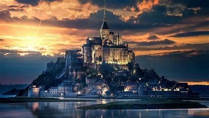 Michel Mont Saint Castle Island 5k Wallpapers
