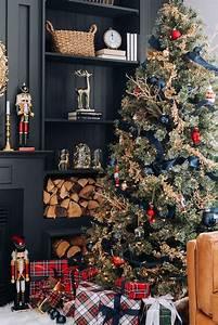 Unique, 20, Navy, Blue, Christmas, Tree, Blue, Christmas, Navy, Tree, Unique