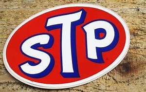 Items Similar To Vintage 60s Stp Racing Oil Sticker On Etsy