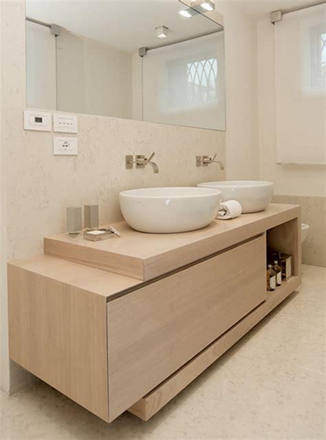 mobiletti arredo bagno mobili bagno legno massello idee di design per la casa