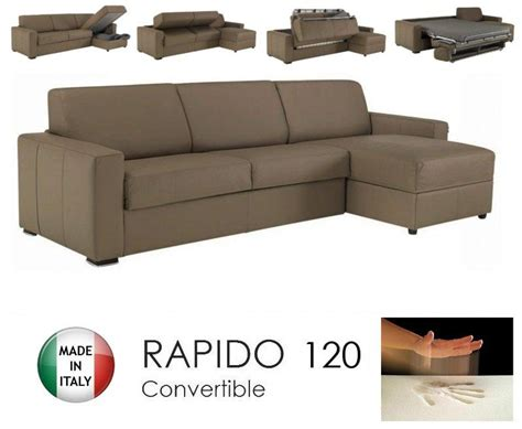 canape cuir taupe angle canape d 39 angle dreamer rapido 120cm cuir eco taupe