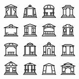 Gazebo Outline Icons Illustrations Icon Isolated Resume Vektor Vectors Template Pergola Ansicht Premium Templates Creative Shareasale sketch template