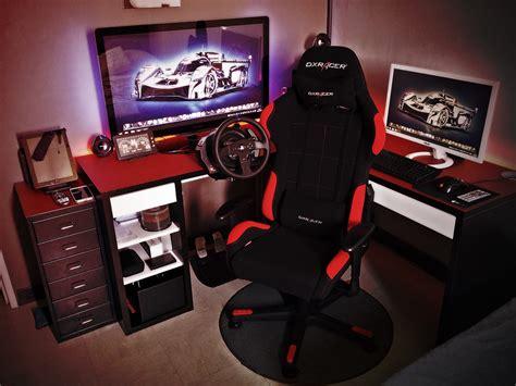 chaise de bureaux bureau gaming dxracer le monde de léa
