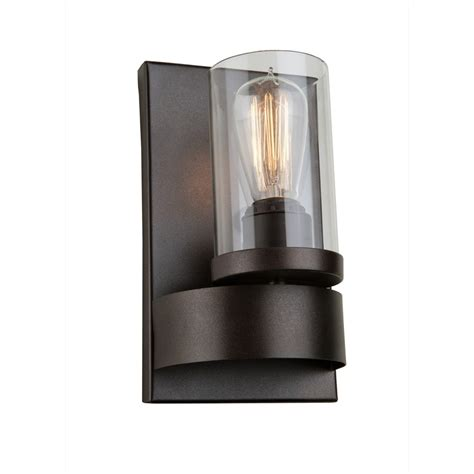 Indoor Wall Sconce Lighting by Lighting Led Wall Sconces Indoor Modern Sconce Bronze