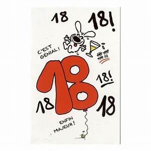 Idée Cadeau Anniversaire 18 Ans : carte d 39 anniversaire 18 ans show lapin show lapin cadeau maestro ~ Melissatoandfro.com Idées de Décoration