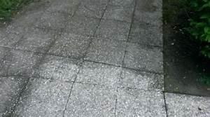 Nettoyage Terrasse Dalles Gravillonnees