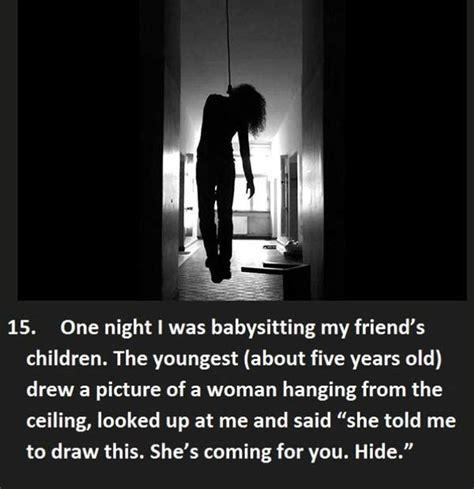 creepy  kids    babysitters team