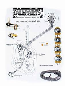 Wiring Kit For Sg Guitars