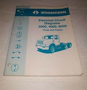 1994 Electrical Diagrams International Truck Tractor 2000