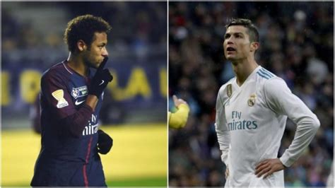 Real Madrid vs PSG: No love lost as Neymar seeks Ronaldo's ...
