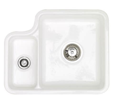 ceramic undermount kitchen sinks astracast lincoln 1 5 bowl ceramic undermount kitchen sink 5208