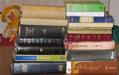 understanding differences  bible translations