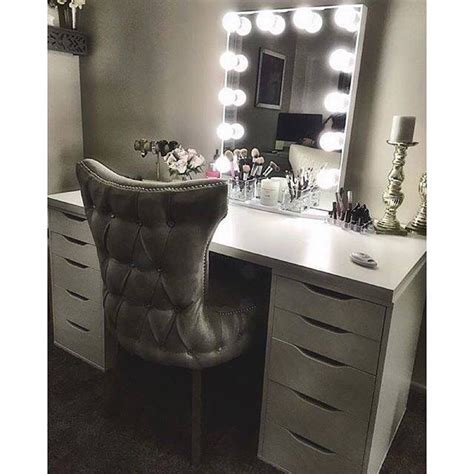 Vanity Table Light by Vanity Table For Makeup With Light Up Mirror Home Sweet