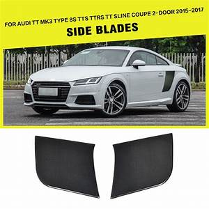 Audi Tt 8s : carbon fiber side blades for audi tt mk3 type 8s tts ttrs ~ Kayakingforconservation.com Haus und Dekorationen
