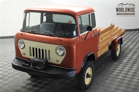 jeep cabover for sale forward control restored 1958 willys jeep fc170 bring a