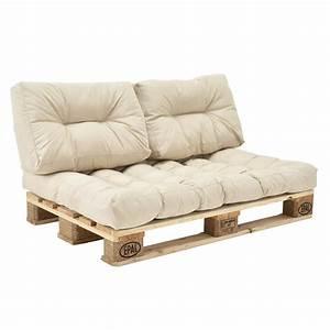 Coussin Palette 120x60 : palettenkissen in outdoor paletten kissen sofa polster sitzauflage ebay ~ Teatrodelosmanantiales.com Idées de Décoration