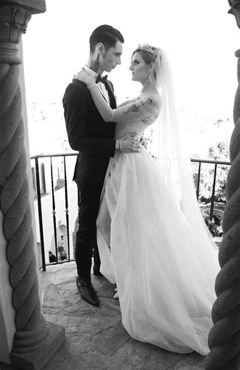 Andy Biersack and Juliet Simms Wedding Photoes