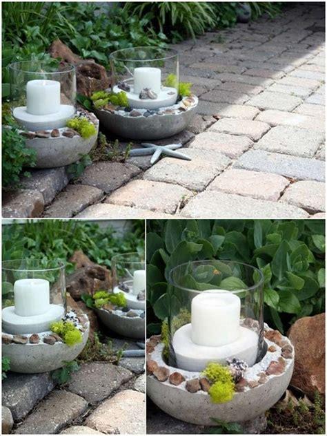 Gartendeko Ideen Selbst Gemacht by Gartendeko Aus Beton Selbst Gemacht Gartendeko Selber