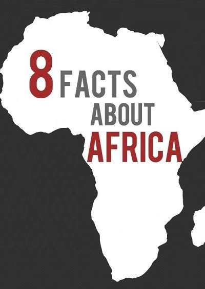 8 Key Facts About Africa - The Globalist