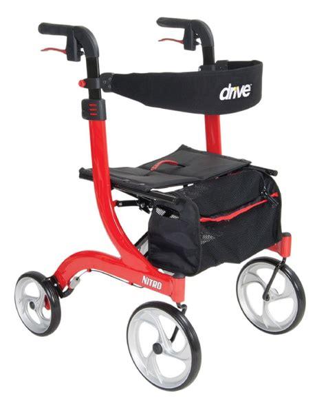 walkers walker rollator drive nitro medical type need rehabmart