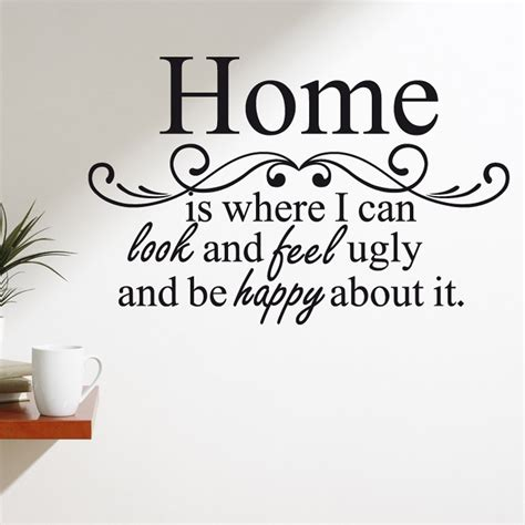 Happy Home Köln by Happy Home Wall Sticker Quote Wall Chimp Uk