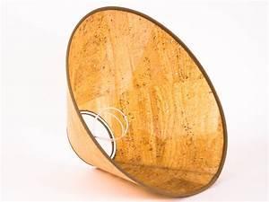 Lampenschirm Zum Aufstecken : klemm lampenschirm aus kork naturmaterial rund e 27 30 cm ~ Sanjose-hotels-ca.com Haus und Dekorationen
