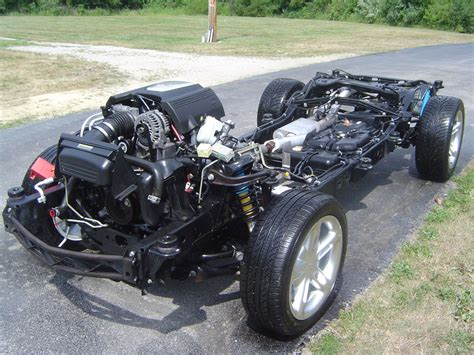 Car Frame by Power Performance Rolling Chassis Packages Cleveland