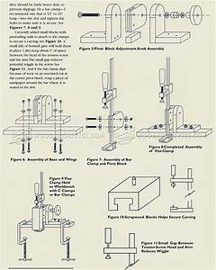 Carving Vise Plans • WoodArchivist