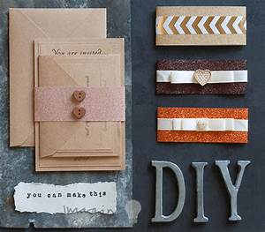 how to make your own diy wedding stationery imagine diy With diy wedding invitations with glitter