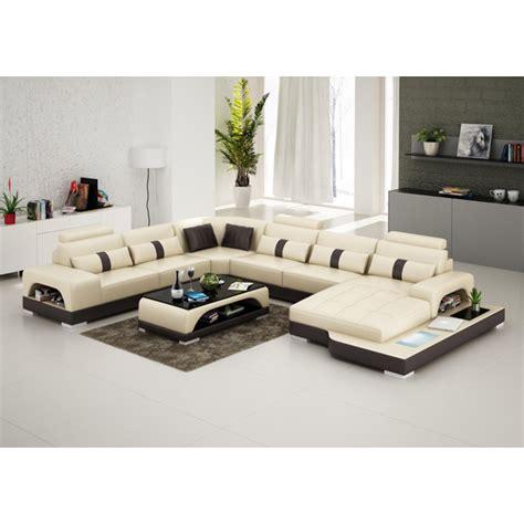 dimension canapé 3 places canapé d 39 angle panoramique en cuir lyon avec éclairage