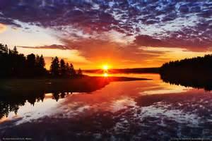 Maine Acadia National Park Sunrise