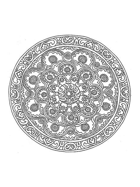 Dessin A Imprimer Mandala Pour Imprimer Ce Coloriage Gratuit 171 Coloriage Mandala Difficile 1 187 Cliquez Sur L Ic 244 Ne