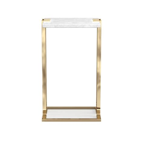 marble and brass side table marble brass side table williams sonoma