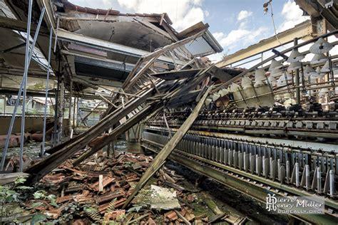 effondrement dans la salle des machines 224 filer industrielle de la filature badin boreally