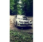 Subaru Rally Car Drifting Wallpaper IPhone