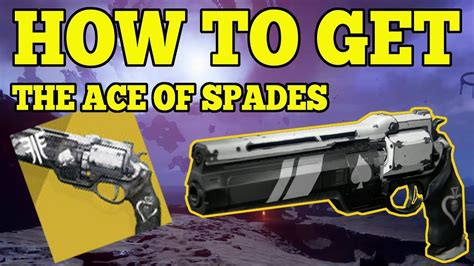 destiny 2 forsaken how to get the ace of spades