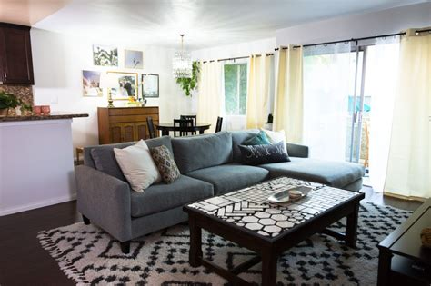 Living Room Goals We It by Newlyweds On A Budget Living Room Dining Room Makeover