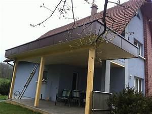 Toit En Bois : couverture terrasse toit plat abt construction bois ~ Melissatoandfro.com Idées de Décoration