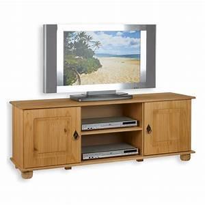 Tv Möbel Lowboard : tv lowboard belfort gebeizt gewachst kiefer massiv mobilia24 ~ Markanthonyermac.com Haus und Dekorationen