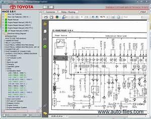 Toyota Hiace 2014 Wiring Diagram