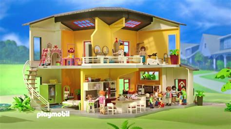 Modernes Haus Playmobil by Playmobil 9266 Maison Moderne Ouverture Unboxing Fr