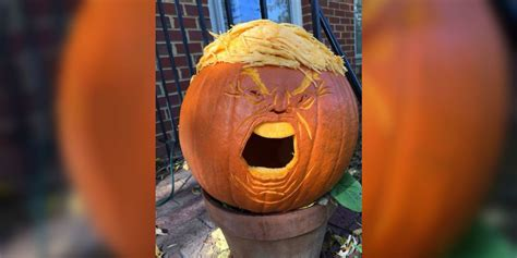 Donald 'trumpkins' Might Just Be The Scariest Halloween Rec Room Designs Powder Inspiration Drawing Rooms Interior Country Sitting Ideas Kids Murals Designing A Long Narrow Living Great River Medical Center Emergency Amazon Media