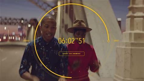 pharrell williams unveils worlds   hour  video
