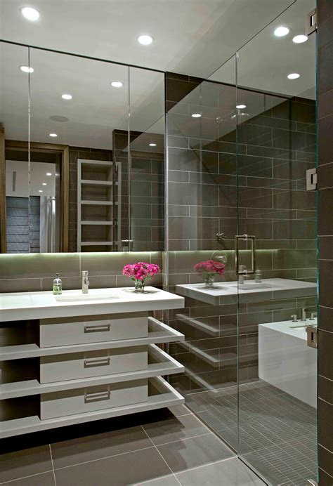 Contemporary Vanity Bathroom by 22 Stylish Grey Bathroom Designs Decorating Ideas