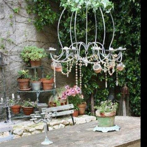 shabby chic style garden design ideas photos