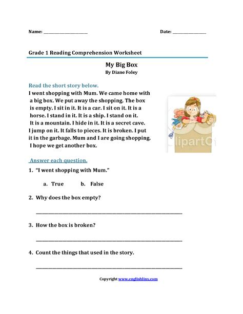 marvelous reading  comprehension  grade  photo