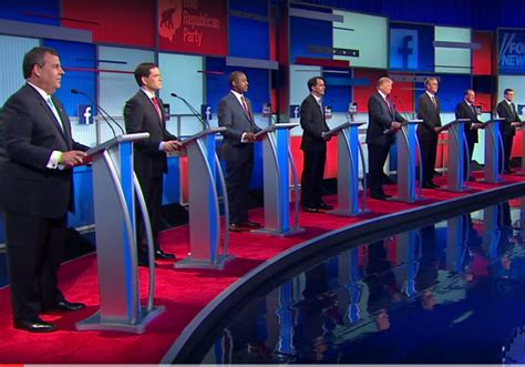trump  bush republican primary