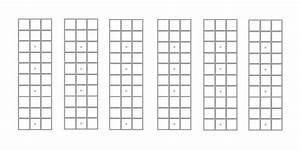 Mandolin  Chord Charts  Fretboard Diagrams  Blank  Music