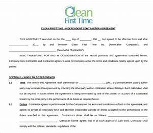 cleaning contract template 17 word pdf documents With office cleaning contract template