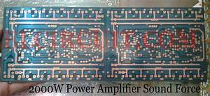 2000w Power Amplifier Circuit Complete Pcb Layout In 2020